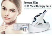 Wholesale anti aging hair for sale - Newest Anti aging and Skin Whitening Cool Face Lifting Mesotherapy Gun Meso Gun Cryo Co2 Frozen Skin Gun No Needle Mesotherapy Machine