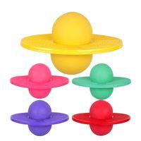 прыгающие мячи для взрослых оптовых-Children Adult Toys Multi-colors  Bouncing Jumping Balls PVC Inflatable Slimming Ball Sport Exercise Fitness Equipment