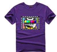 große knallt-shirts großhandel-The Big Bang Theorie T-Shirt Sheldon Cooper Paradox chemische Gleichung T-Shirts Männer Frauen kurze T-Shirt TV kein Signal Liebhaber T-Shirt