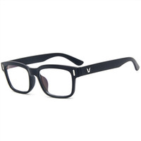 усталостные очки оптовых-Высокое Качество Анти-Усталость Анти-Излучения 0 Диоптрийные Очки Унисекс Простые Стеклянные Очки Защита Компьютера Очки Рамка