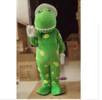 2018 Factory sale hot adult plush green dorothy the dinosaur mascot costumes size L hotsale  sc 1 st  DHgate.com & Dinosaur Green Mascot Costume Canada   Best Selling Dinosaur Green ...