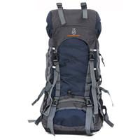 nylon wanderrucksack großhandel-Heißer 60L Nylon / Oxford Wasserdichte Dry Bag Outdoor Hohe Qualität Reiserucksack Männer Frauen Camping Bergsteigen Wandern Rucksäcke