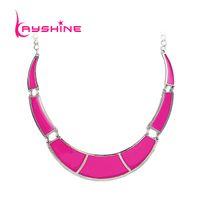 Wholesale Neon Fashion Necklaces - whole saleKayshine Accesorios Mujer Fashion Cheap Costume Jewelry Neon Enamel Geometric Necklace Shorts Women