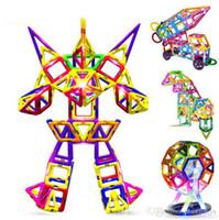 mini brinquedos magnéticos venda por atacado-Soltando navio Magplayer 327 pçs / set Blocos Magnéticos Mini Magnetic Designer Construção Modelo 3D Blocos Magnéticos Brinquedos Educativos Para criança