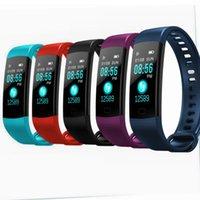 ingrosso orologio impermeabile dei ragazzi-Smartwatch Smartwatch intelligente di frequenza cardiaca Tracker Smartband Intelligente orologio da polso da polso Smart Smart Wristband Smart Watch Men Boy Xmas Gift