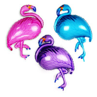 toile de fond pour les enfants achat en gros de-Festif de décoration de fête de Noël durable gonflable de ballon de Flamingo gonflable gonflable d'air d'hélium de papier d'aluminium de fête pour le jouet
