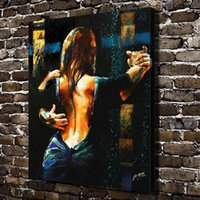 Wholesale framed wall art paintings online - Woman Argentine tango Hand painted HD Print Art oil painting On Canvas Home Decortion Wall Art High Quality p408