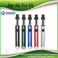 Wholesale Ego Original Joyetech - Original Joyetech eGo Aio Eco Starter Kits with 1.2ml 650mah Built-in Battery with BFHN MTL Coil All-in-one Style Kit 100% Authentic