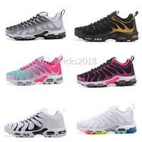 Wholesale Plus Size Shoes Flats - 2018 Famous Plus TN Ultra Women Sports Hot Sale Outdoor Jogging Athletic Running Shoes Sports Shoes Sneaker Trainers Shoes Size 36-39