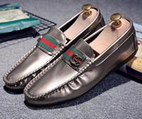 mes casual shoes venda por atacado-Sapatos Casuais dos homens quentes Tênis Respirável Moda Verão Estilo Mocassins Macios Homens Sapatos de Couro Genuíno de Alta Qualidade Me