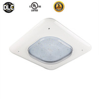 Wholesale Low Bay Led - 100W 130W 150W Gas Station Lamp LED Low Canopy Light Industrial Factory High Bay Meanwell driver 90-277V 110lm W Commercial Celling Light