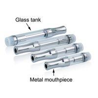 cartuchos de vaporizador al por mayor-92A3 Pyrex cartucho de cartucho de vidrio CE3 atomizador vaporizador bolígrafos cartuchos doble bobina A3 para aceite grueso ajuste 510 batería