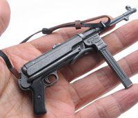 военное оружие оптовых-1: 6 солдат рисунок аксессуар Дракон Второй мировой войны Германия солдат модель MP40 пистолет-пулемет оружие для военных 12