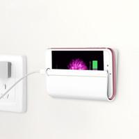 ingrosso basamento del caricabatterie da parete-Caricatore da muro per cellulare Caricatore per adattatore Supporto da muro Supporto per telefono