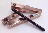 sobrancelhas quentes venda por atacado-Quentes da composição Duplo sobrancelha lápis da testa pastel do lápis ÉBANO SOFT marrom escuro marrom médio castanho chocolate grátis