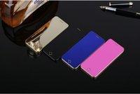 ingrosso display del telefono cellulare anti-Mini Anica A9 + MP3 FM dual sim card dialer bluetooth display OLED touch key sync anti-perso mini carta di credito cellulare cellulare