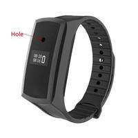ingrosso hd orologio di registrazione video-Mini Camcorder Smart Band HD 1080P Mini Orologio Watch Pedometro Smart Wristband Secret Camera Voice Video Recording Cam Bracelet