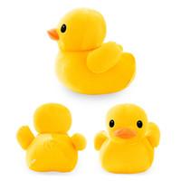 peluche pato amarillo al por mayor-20 cm 7.9 '' Gran Pato Amarillo Peluches Juguete de peluche Lindo Gran Pato Amarillo juguetes de peluche Para Regalo de cumpleaños LA096