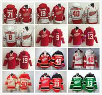 Custom Detroit Red Wings Hoodies Niklas Kronwall Dylan Larkin Frans Nielsen Gordie  Howe Steve Yzerman Henrik Zetterberg Andreas Athanasiou 4cd4f808f