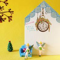 Wholesale House Figurines - 10 Pcs  fairy girls doll house  miniatures lovely figurine fairy garden gnome moss terrarium decor crafts bonsai r006 DIY