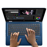 mtk6735 2gb toptan satış-VOYO VBOOK V3 Pro Windows10 Tablet PC 13.3 Inç IPS Apollo Gölü N3450 Dört Çekirdekli 1.1-2.2 GHz Ile 8 GB DDR3L 120 GB SSD bilgisayar
