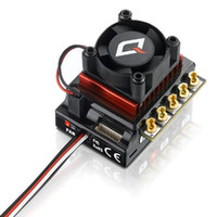 controlador esc al por mayor-Hobbywing QUICRUN 10BL120 Sensored 120A 2-3S Lipo Speed ​​Controller Brushless para 1/10 1/12 RC Coche