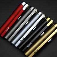 fackelfeuerzeuge für großhandel-Neue Ankunft Genuine Aomai Compact Jet Butanfeuerzeug Taschenlampe Schleifscheibe Feuer Gerade Feuerzeuge Zigarettenanzünder Speziellen Zigarettenanzünder