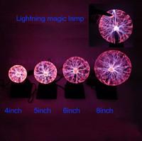 ingrosso aria purificata-4 5 6 8 pollici lampada magica bagliore palla plasma palla lampada di cristallo elettrostatico magia Per KTV Purify Air novità Nighting