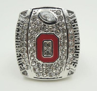 Wholesale best gold rings - Fine high quality 2014-2015 Big Ten Ohio State Buckeyes College championship rings football ring as best gift for men