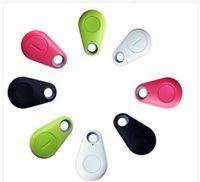 ingrosso animale bluetooth-Micro Mini Smart Finder Smart Wireless Bluetooth 4.0 Tracer Localizzatore GPS Tracking Tag Allarme Portafoglio Chiave Pet Dog Tracker con scatola al minuto