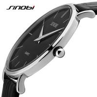 Wholesale solar luxury watch resale online - Sinobi Ultra Slim Sport Leather Woman Wrist Best Quartz Watch Women s Brand Luxury Ladies girls Wristwatch relogio femininoY1883102