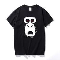 monos de roca al por mayor-Nuevo Modo Radiohead Camiseta Rock Muziek Camiseta Heren Korte Mouw Camiseta Radio Hoofd Rock En Roll Arctic Monkeys Koning Camiseta