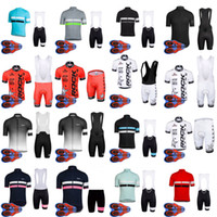 Wholesale cycling dry rock - RAPHA ROCK RACING team Cycling Short Sleeves jersey (bib) shorts sets Ropa Ciclismo Breathable Bike Clothing Quick-Dry Sportwear D1656