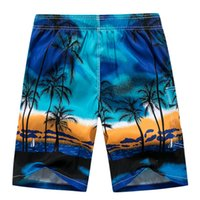 Wholesale surf clothes brands for sale - Group buy Mens Board Shorts Brand Summer Clothing Coconut Trees Swimwear Beach Shorts Men S Surf Quick Dry Swimming Shorts