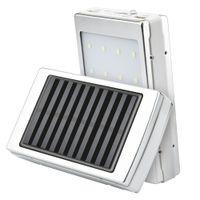 karikatür mobil şarj cihazı toptan satış-telefon için Harici Şarj DIY Kutusu taşınabilir şarj Harici poverbank 5x18650 Güneş Taşınabilir Çift USB Güç Bankası kutusu LED