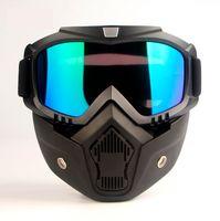 Wholesale Motocross Glasses - Motorcycle goggles glasses 2018 mask motocross helm dust gafas moto