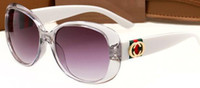 ingrosso le tonalità degli occhiali vintage-Occhiali da sole donna design unico Occhiali da sole quadrati Occhiali da sole oversize vintage con montatura grande Occhiali da sole in acetato 3660