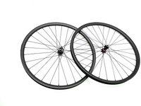 Wholesale 29er wheel set resale online - 29er carbon MTB wheel set K mm vacuum one barrel axis mountain carbon wheel set