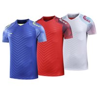 Wholesale xxl clothing for women - Li Ning Running Sportwear Clothing for Men Women Badminton Table Tennis T Shirts Clothes Quick Dry Lovers Tee Shirt