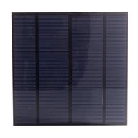 Wholesale Project Panels - 20Pcs Lot 3W 6V DIY Polycrystalline Solar Cell Panel PET Laminated Solar Cell Size 145mm*145mm for Test and Solar Project