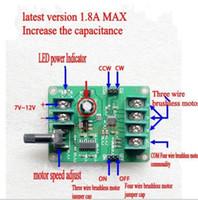 12v motorfahrer großhandel-Freeshipping 5V-12V DC Brushless Motor Treiber Board Controller für Festplatte Motor 3/4 Draht