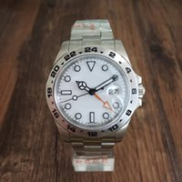 Wholesale high multiple - AAA Watch 40MM White Dial Explorer II Ref.216570GMT Format 316L Stainless Steel High Quality Automatic Mechanical Watcher Explorer Series Sa