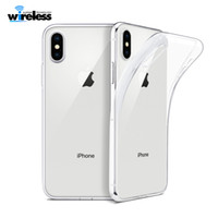 Wholesale For Iphone XS MAX XR X Note p20 Crystal Gel Case Ultra Thin transparent Soft TPU Clear Cases for huawei mate20 pro