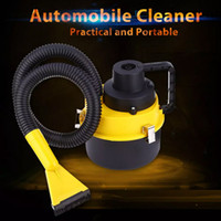 Wholesale High Power Car Vacuum - New DC12V High Power Wet And Dry Portable Handheld Car Vacuum Cleaner Washer Car Mini Dust Vacuum Cleaner
