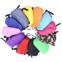 Wholesale Modern Air - New Portable Inflatable lounger Bag Air Sofa Sleeping Beach Bed Outdoor Lazy Bag Thicker Lounge Sleep Bag DHL Free