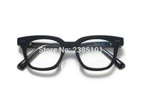 78be2b752de90 Mulheres homens Quadrados Óculos de Armação de acetato Feminino Designer de  Marca Gentil De Sol Óculos Óculos Gafas Prescrição eyewear