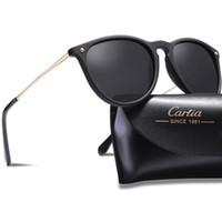 gafas de visión para mujer al por mayor-Gafas de sol polarizadas para mujer 5100 gafas 54 mm gafas de sol masculino resina gafas de sol UV400 gafas de sol de gafas de diseñador con caja