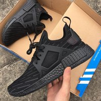 Wholesale children shoes for cheap - 2017 NMD R1 PK Adult And Kids Children Running Shoes sports sneaker 15 color matching cheap online for sale