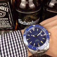 сам супер оптовых-ААА топ люксовый бренд мужские часы 40 мм механические из нержавеющей стали автоматическое движение self ветер супер роскошные мужские часы