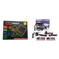 sistemas de videojuegos para al por mayor-Coolbaby HDMI 1080P Mini TV Video Portátil Retro Consola de juegos clásica Sistema de entretenimiento para juegos Nes Caja al por menor en inglés